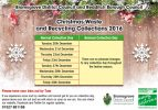 Xmas 2016 Waste Collections
