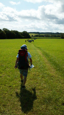June 2015 Romsley Penny Fields Walk submitted by Dave Powell