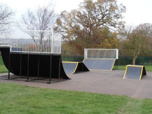 The new Ramps installed