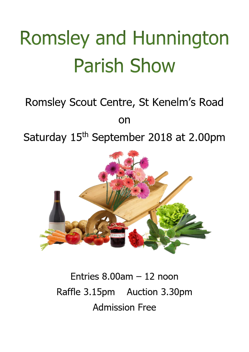 Romsley Hunnington Show 2018