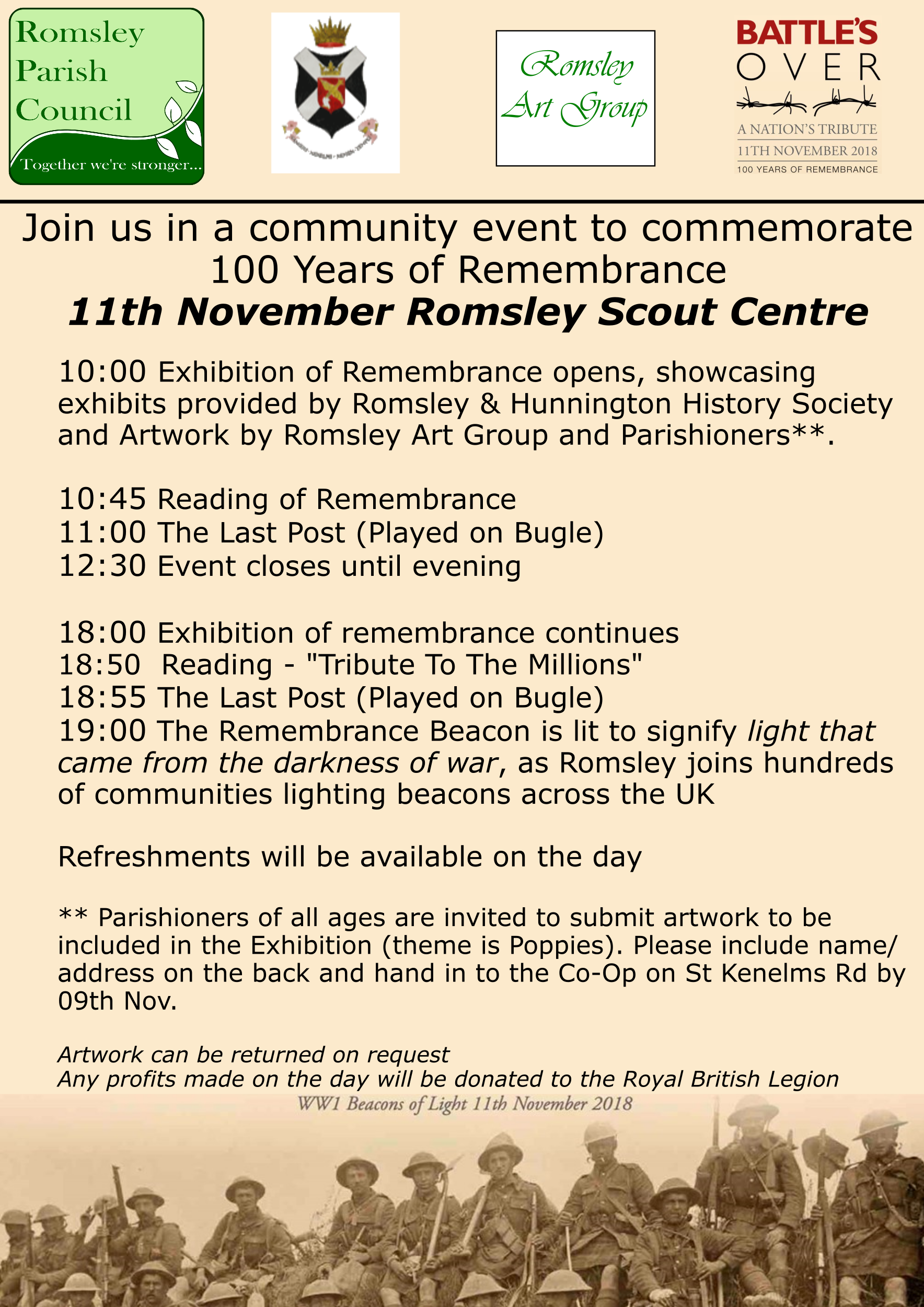 Romsley WW1 Celebration