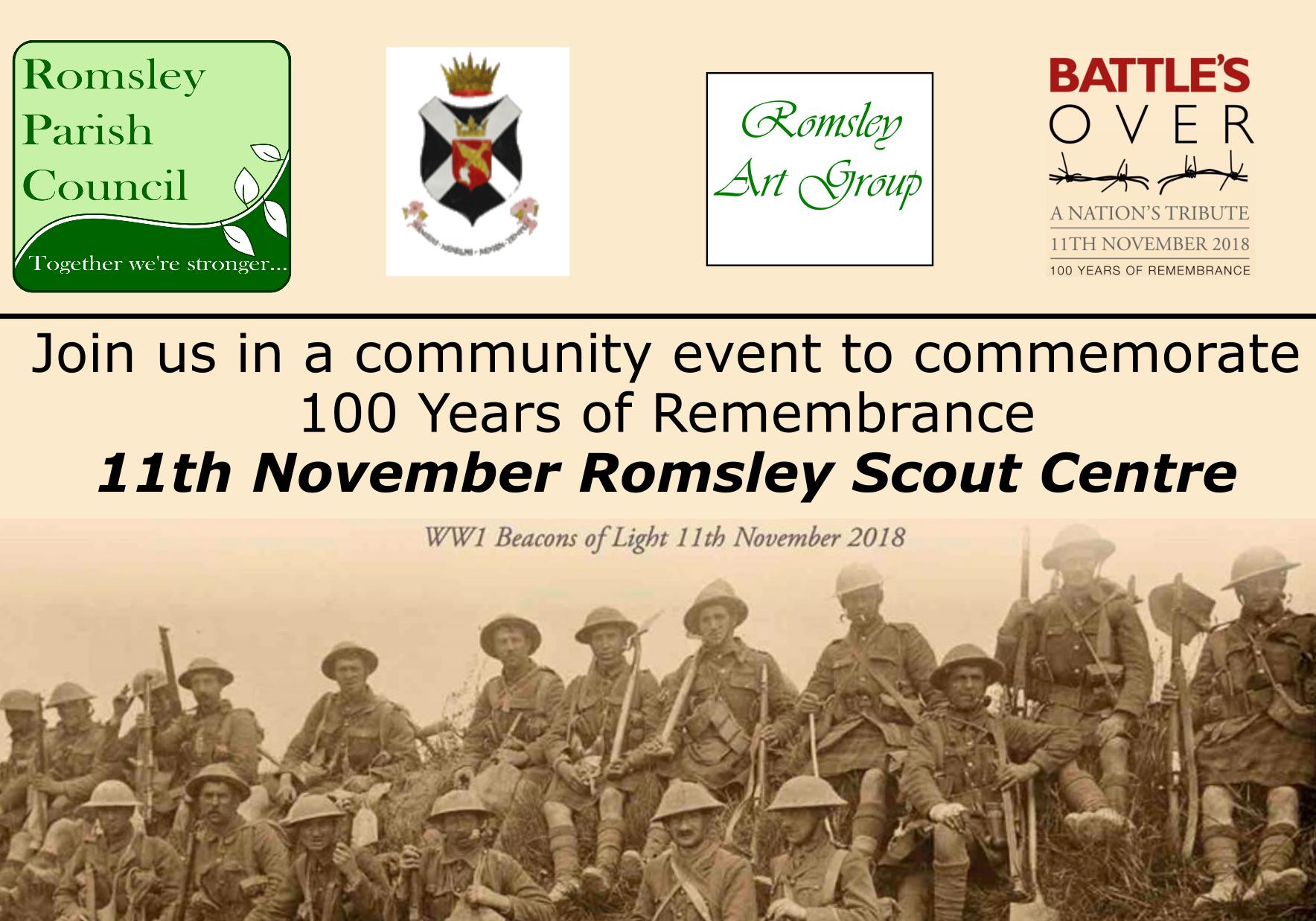 Romsley WW1