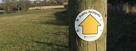 Romsley Post sign