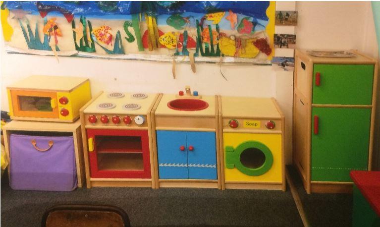 Romsley Pre School Nursery Kitchen