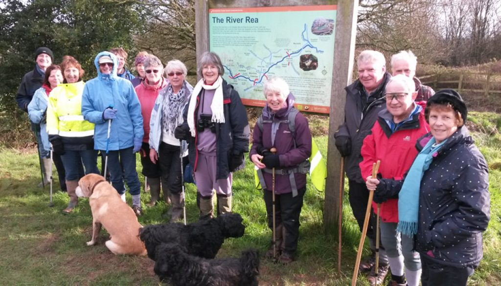 Romsley New Year Walk 2016 group photo