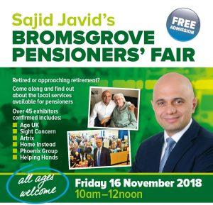 Bromsgrove-Pensioners-Fair-Sajid-Javid-2018