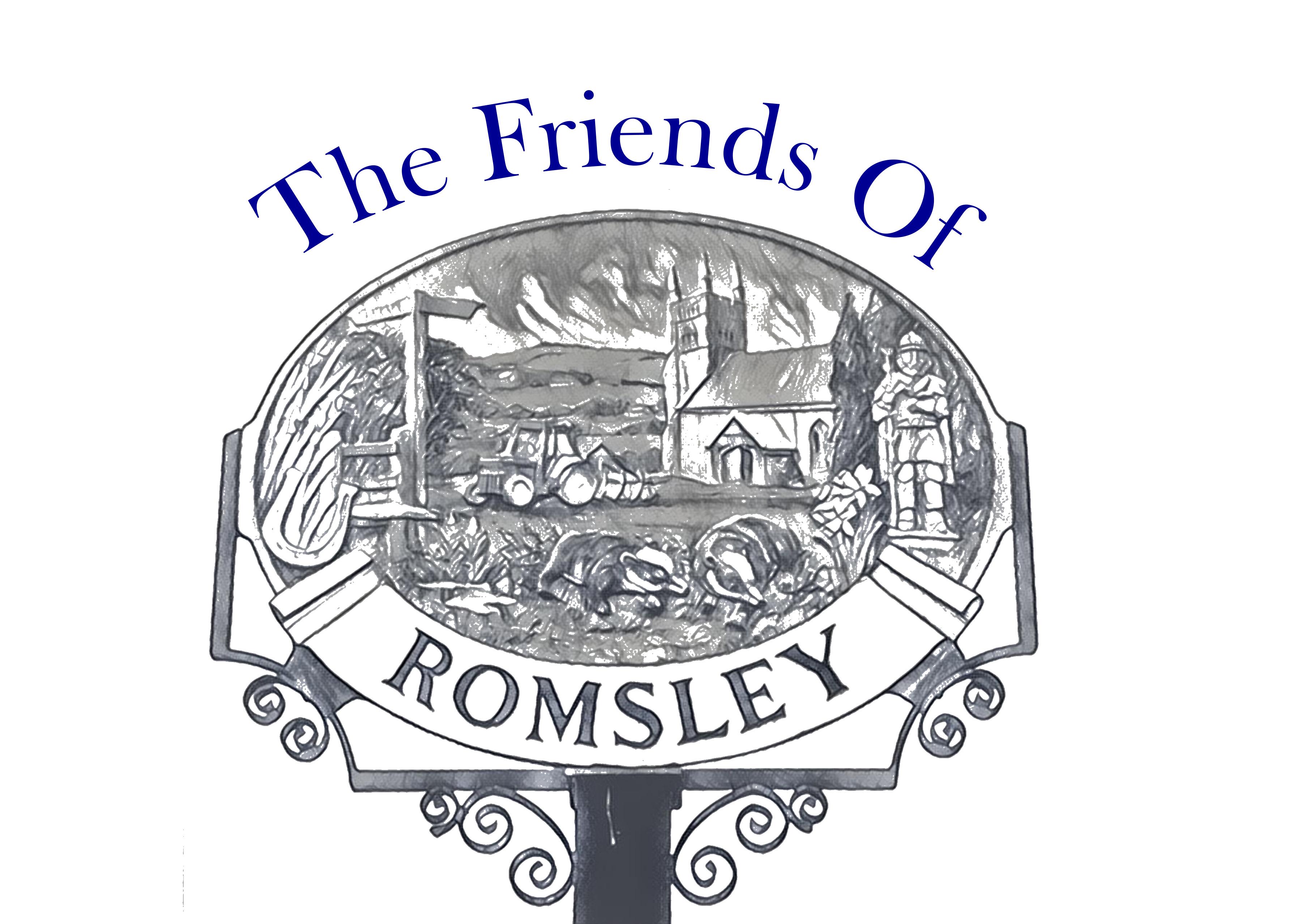 Friends of Romsley Logo