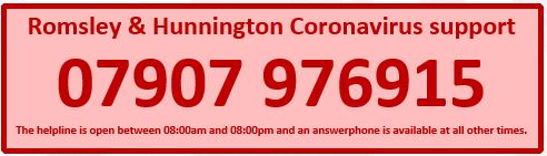 Romsley Coronavirus Hotline